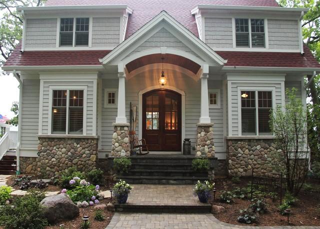 vintage cottage on the lake - farmhouse - exterior - milwaukee