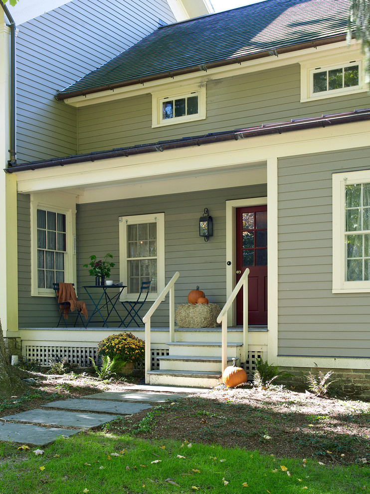Country exterior home idea in New York