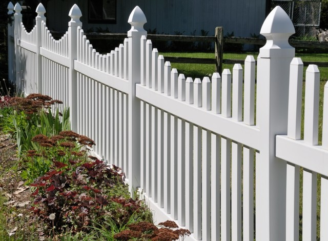 Vinyl Fencing - Traditional - Exterior - by Atlas Home Direct™