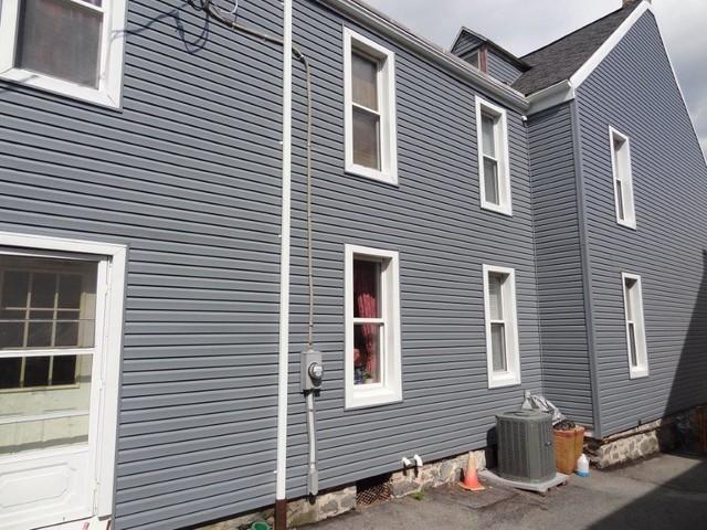 vinyl siding over masonry traditional exterior other