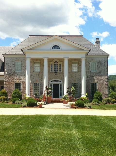 Virginia residence traditional-exterior