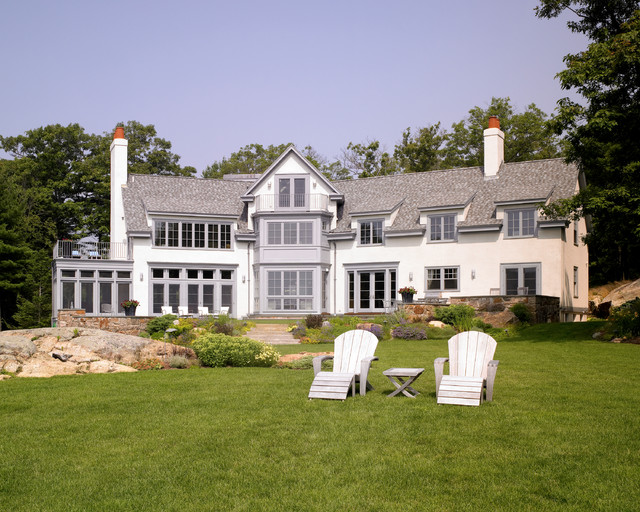 Voysey Inspired Seaside Home traditional-exterior