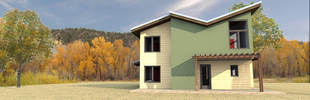W2 - TCI Lane Ranch contemporary-exterior