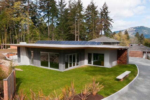 Wain Rd Pre Cast Insulated Concrete Panel Passive Solar
