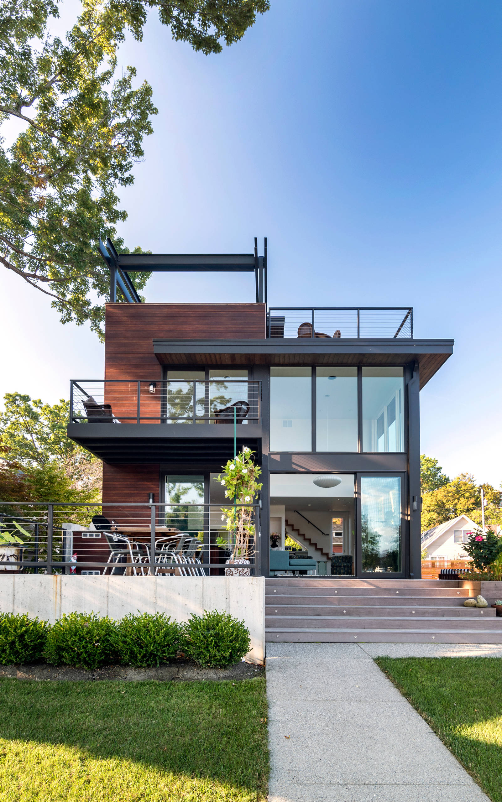 75 Beautiful Small Modern Exterior Home Pictures Ideas December 2020 Houzz