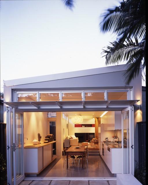 Wake Murphie House contemporary-exterior