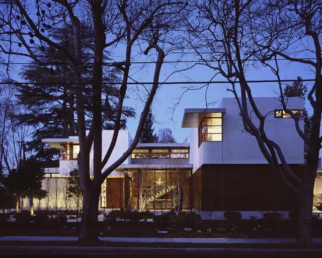 Waldfogel Residence midcentury-exterior