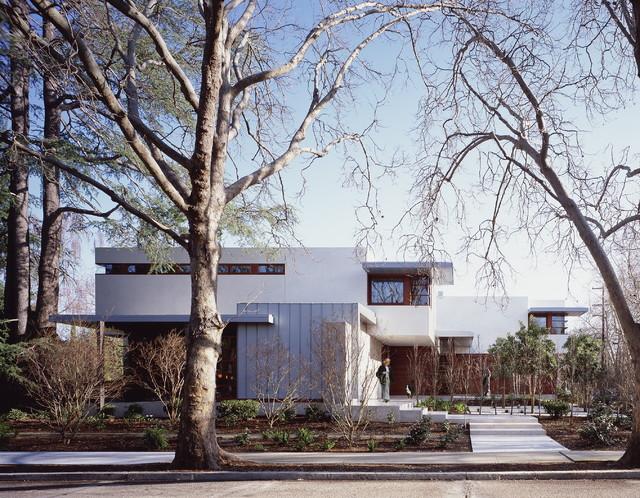 Waldfogel Residence modern-exterior
