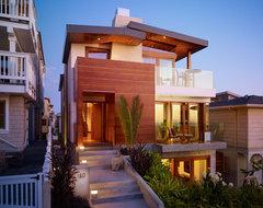 Walk Street Entry Porch contemporary-exterior