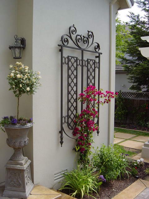 Wall Trellis Traditional Exterior San Francisco By