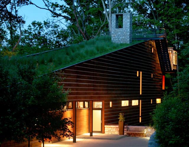 Walnut Woods Residence contemporary-exterior