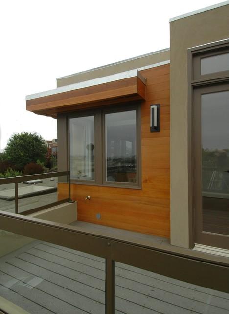 Warm Modern In Noe Valley Exterior Contemporary Exterior San