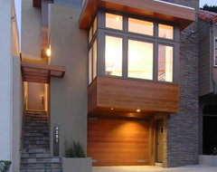 Warm Modern in Noe Valley modern exterior