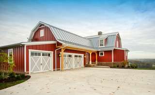 Warsaw Ohio - Farmhouse - Exterior - Columbus - by Shrock Premier Custom Construction