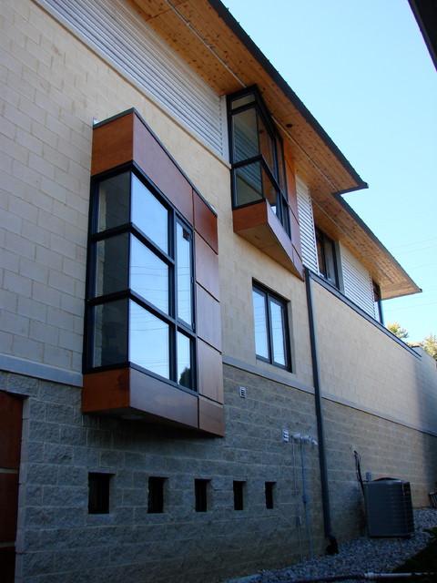 washko residence contemporary-exterior