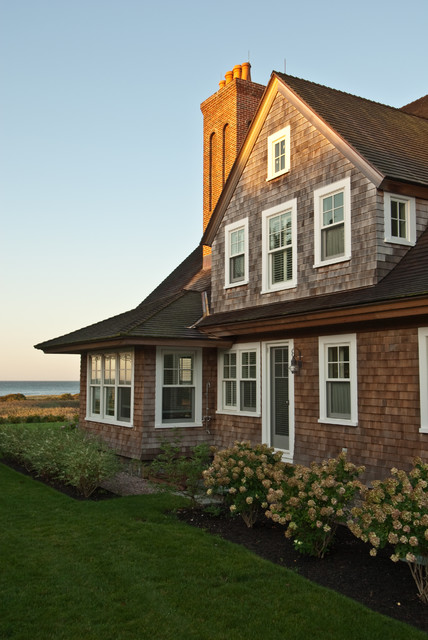 Watch Hill Oceanfront Residence - Victorian - Exterior - Providence - by Michael McKinley and Associates, LLC