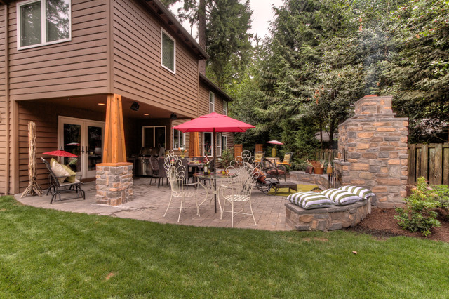 Waxman project traditional exterior portland by for Paradise restored landscaping exterior design
