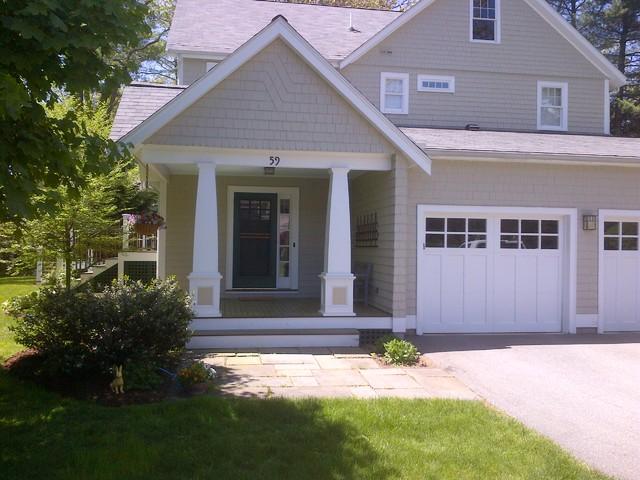 Wayland addition craftsman boston di cabot building for Aggiunte garage per case in stile ranch