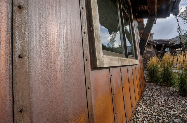 Rusted Steel Rustic Exterior Other Metro By