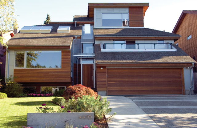 West 1st Residence contemporary-exterior