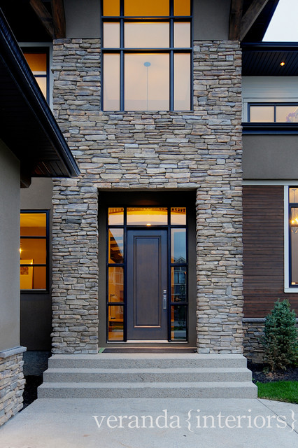 West Coast Contemporary Exterior - Modern - Exterior - Calgary - by ...
