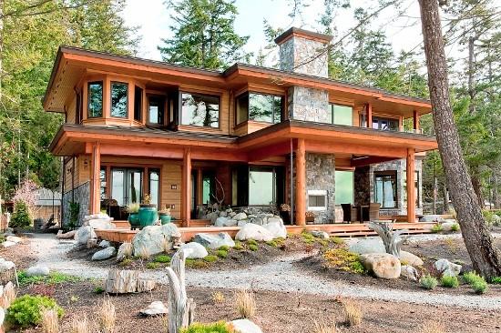 West Coast Custom Home