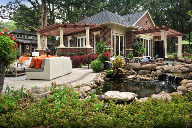 West Des Moines Ia Pool House Eclectic Eclectic
