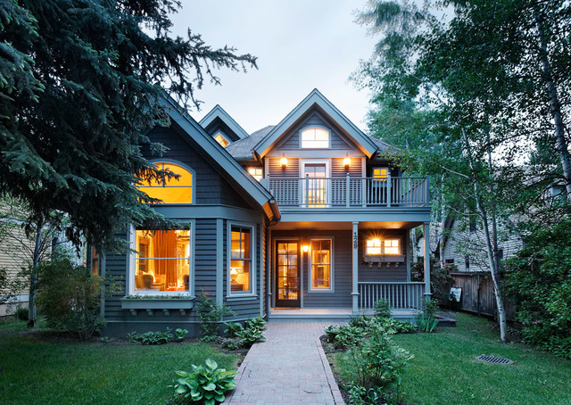West End Aspen traditional-exterior