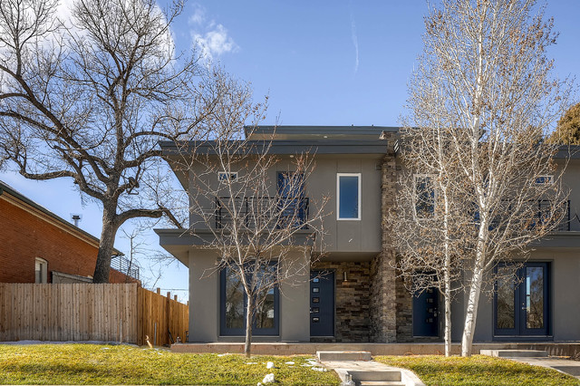 West highland contemporary exterior denver by ak for 1111 dolphin terrace corona del mar