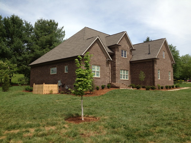 West Knoxville Custom Home traditional-exterior
