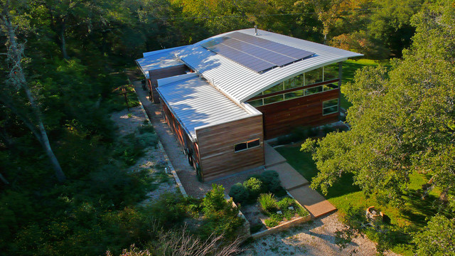 West Lake Residence: Exterior - Modern - Exterior - Austin - by ...