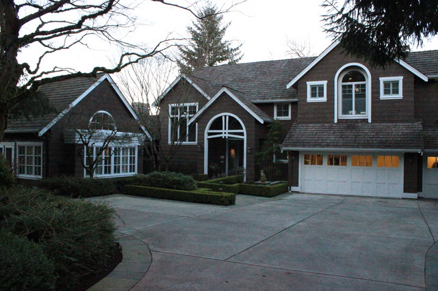 West Lake Sammamish Beach House traditional-exterior