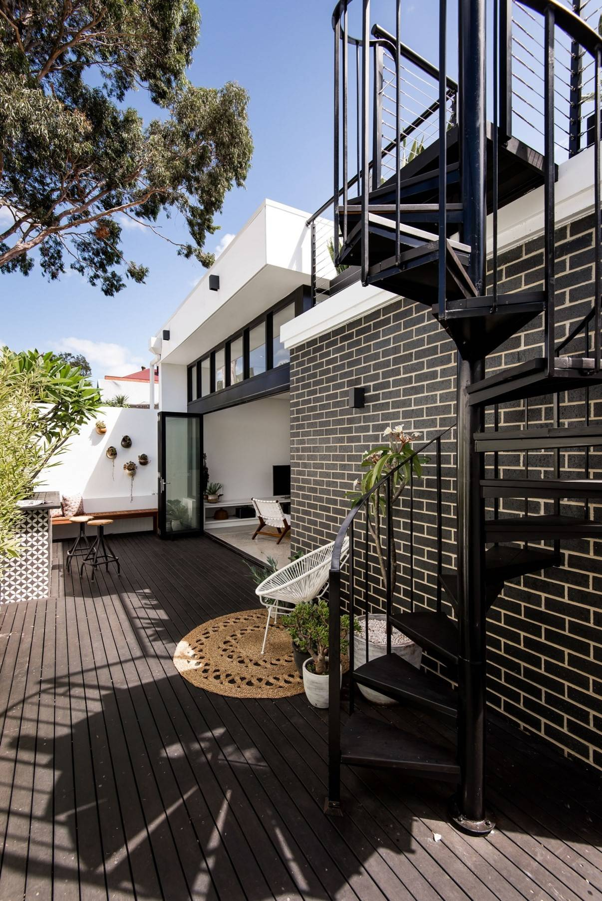 Stairs To Roof Deck Exterior Ideas Photos Houzz