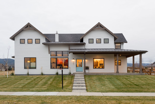 West meadow modern farmhouse farmhouse exterior