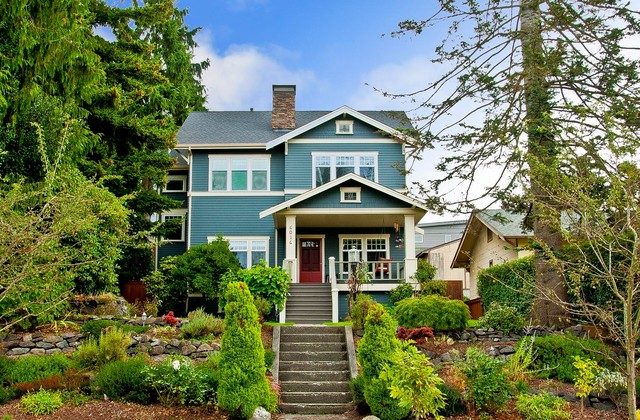 West Seattle Addition & Remodel traditional-exterior