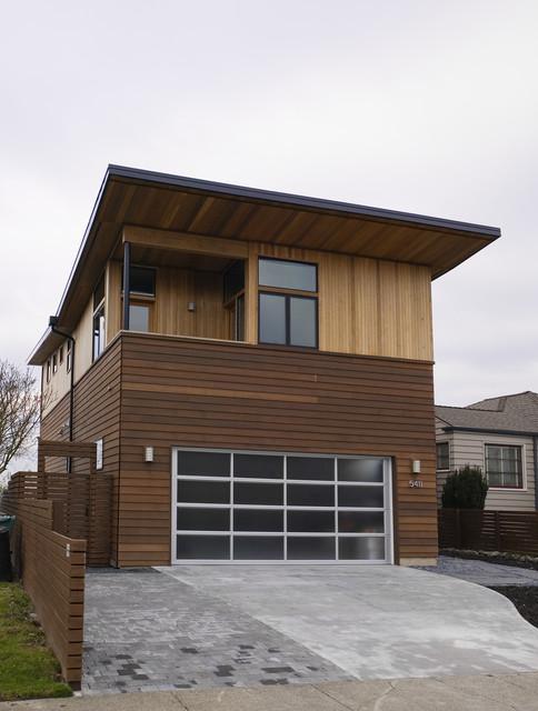 West Seattle House modern-exterior