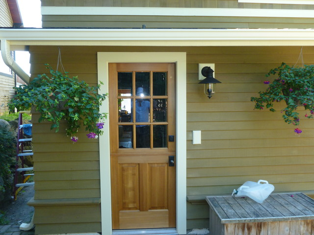 West Seattle Puget Sound View Home Remodel and Addition traditional-exterior