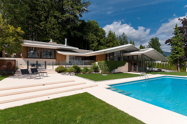 West Vancouver Mid Century Modern Home Midcentury