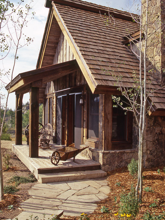 rustic front porch home design ideas pictures remodel