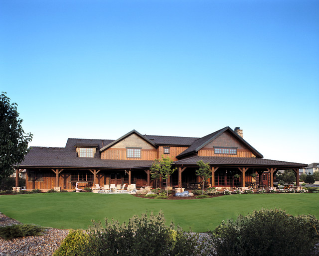 Western Ranch Traditional Exterior Denver By Mq Architecture Design Llc
