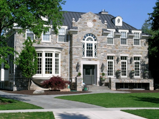 Western Springs Residence traditional-exterior