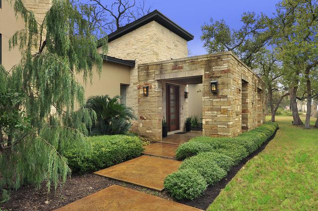 Westlake Residence Exterior contemporary-exterior