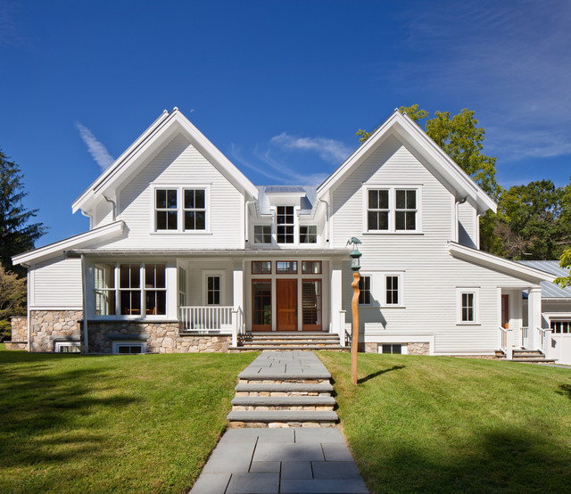 Weston Modern Farmhouse - Modern - Exterior - Other - by ...