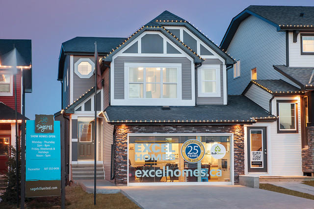 Weston Show Home in Sage Hill NW Calgary Traditional