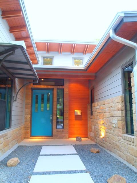 Westpark Residential Home-Austin Texas modern-exterior