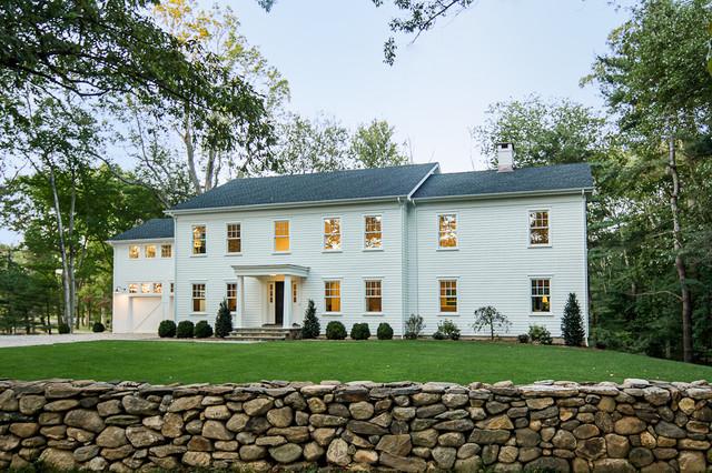 Westport Farmhouse for the Modern Traditionalist farmhouse-exterior
