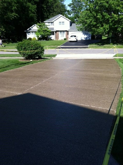 Wet look concrete driveway sealer foundation armor ar350 Base for concrete driveway