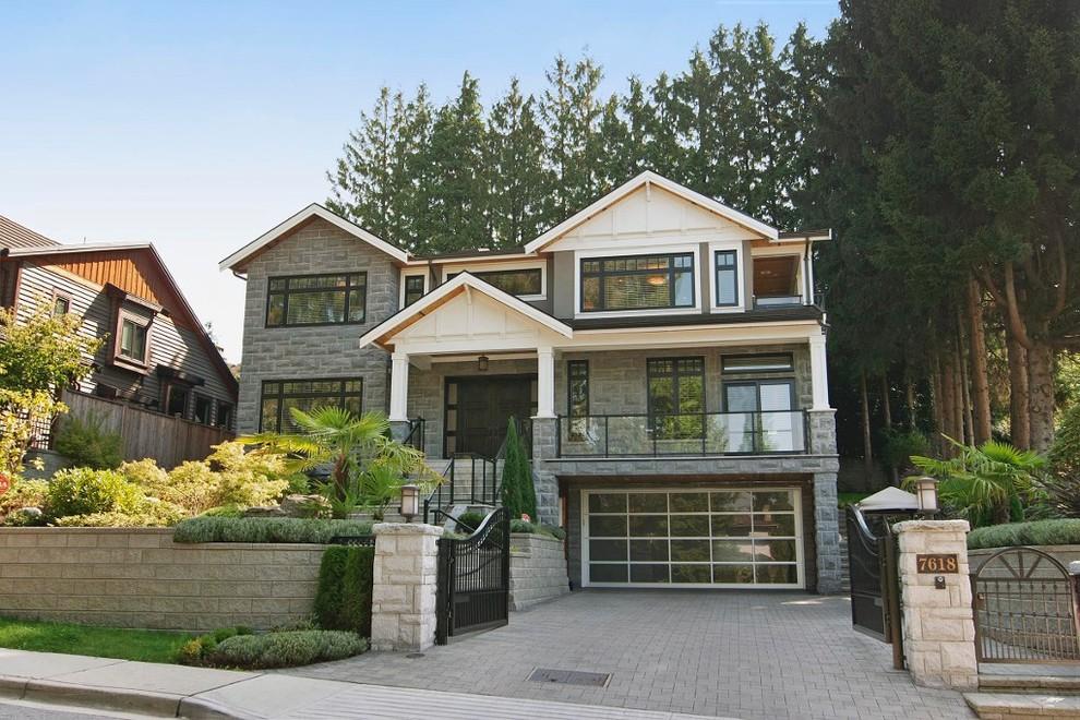 Elegant exterior home photo in Vancouver