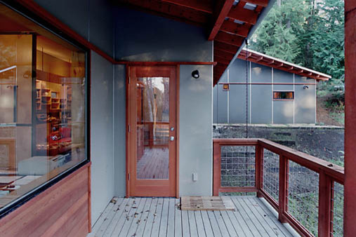 Whidbey House modern-exterior