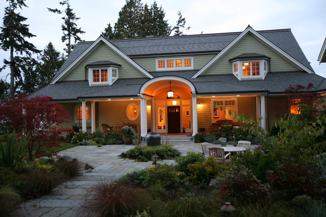 Whidbey Island Residence rustic-exterior